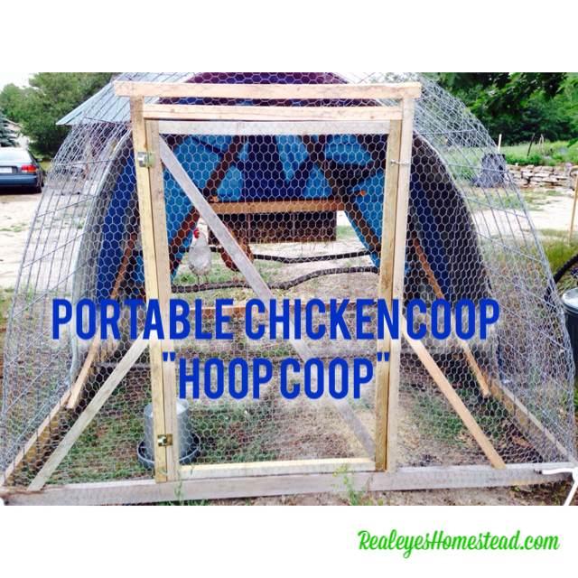 """How to Build a Chicken Tractor """"Hoop Coop"""""""
