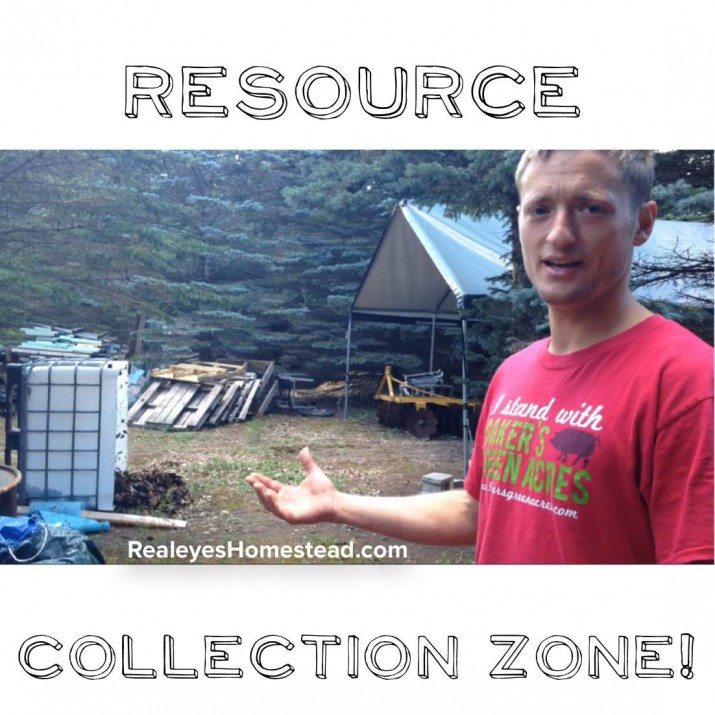 Upcycled Living, Our Resource Collection Zone i.e. The Junkyard ;)