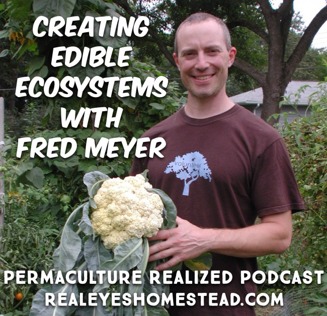 Permaculture Realized Podcast Episode 8, Creating Edible Landscapes and Forest Garden Ecosystems with Fred Meyer