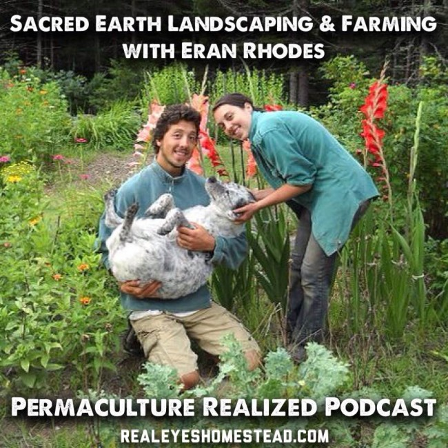 Permaculture Realized Podcast Episode 13, Sacred Earth Landscaping and Farm with Eran Rhodes