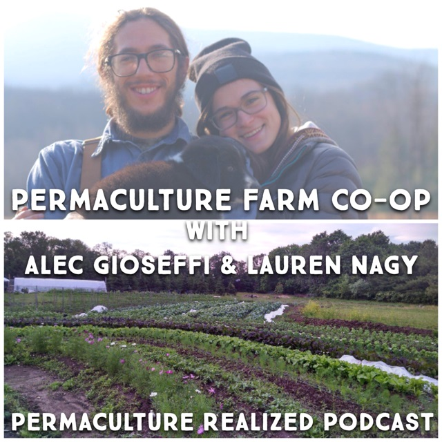 Permaculture Realized Podcast Episode 23, Permaculture Farming at Cooperative 518 with Alec Gioseffi and Lauren Nagy