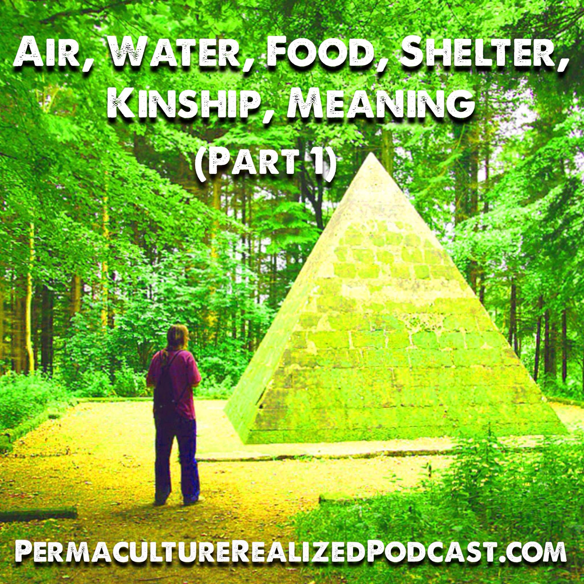 Permaculture Realized Podcast Episode 27, Air Water Food Shelter Kinship Meaning (Part 1)