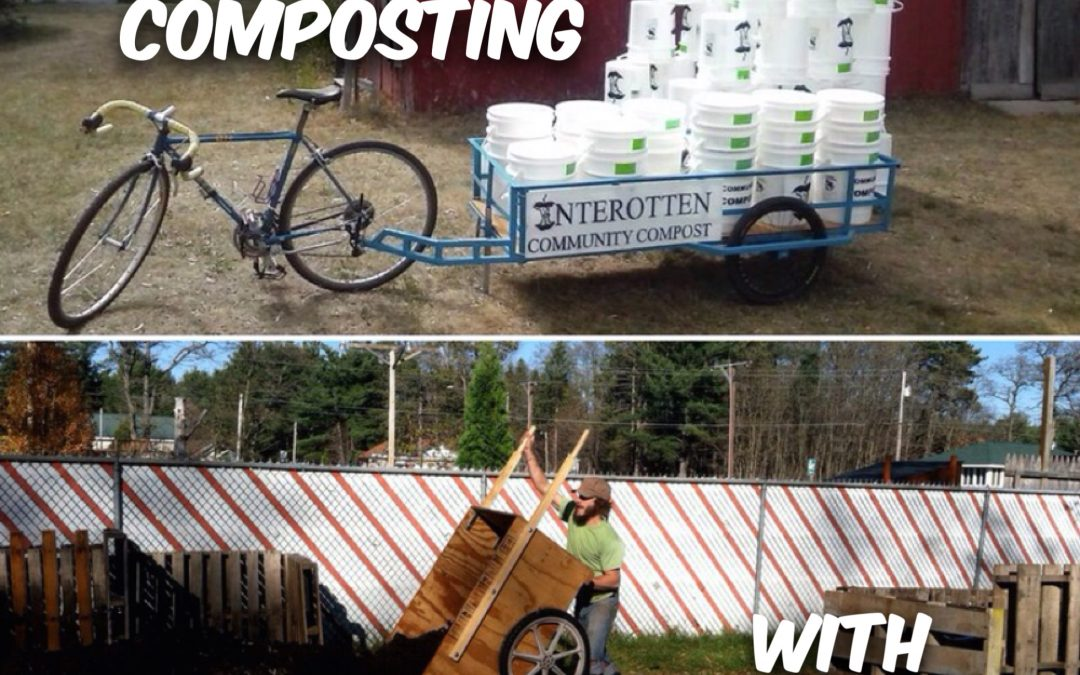 Permaculture Realized Podcast Episode 32, Bicycle-Powered Community Composting with Ried Meyer